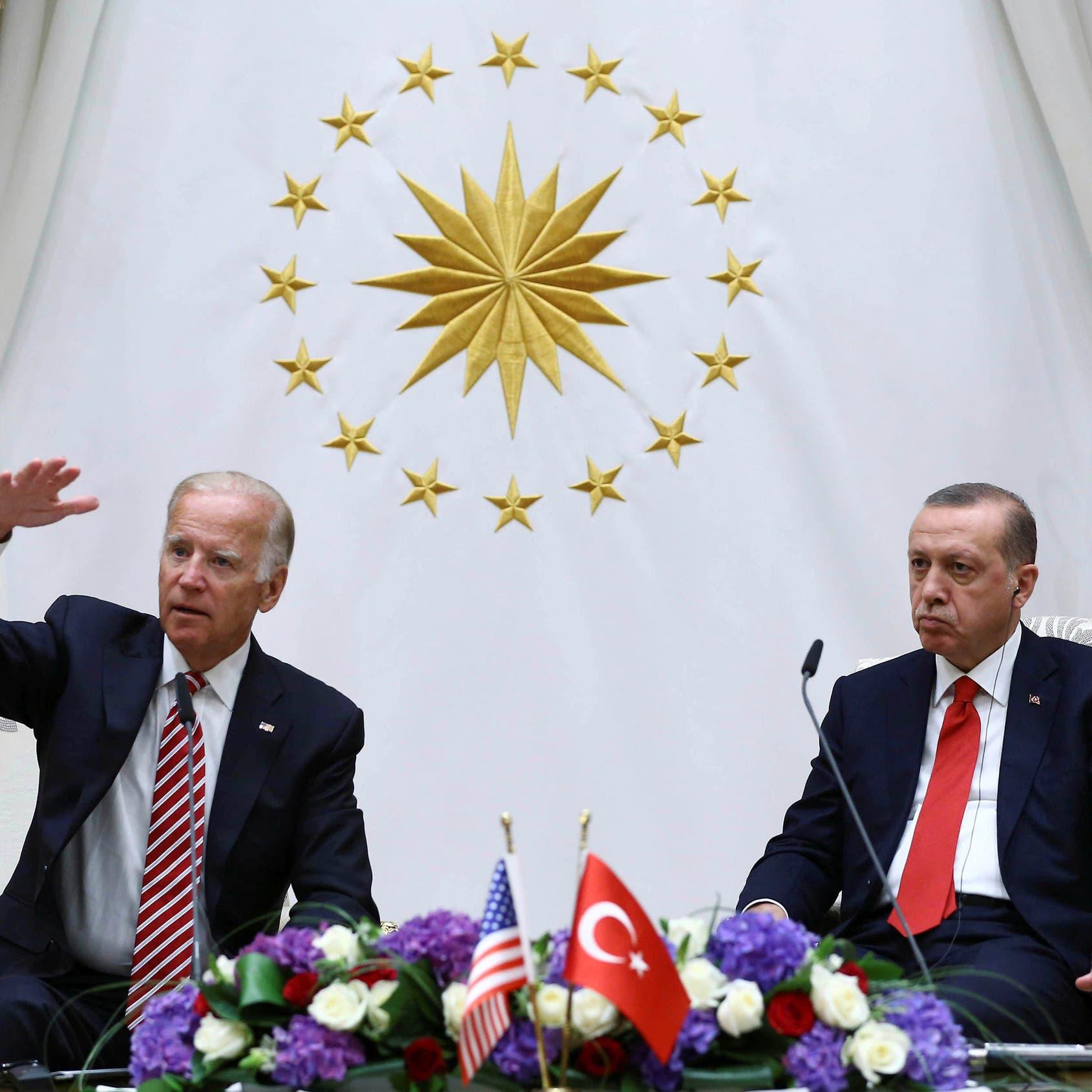 """فيديو قديم يثير غضب أنقرة.. بايدن عن أردوغان: """"مستبد"""""""