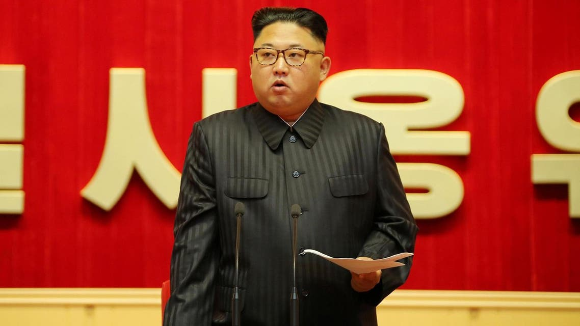 North Korean leader Kim Jong Un guides the 3rd Meeting of Activists of the Korean People's Army (KPA) in the Movement for Winning the Title of O Jung Hup-led 7th Regiment. (Reuters)
