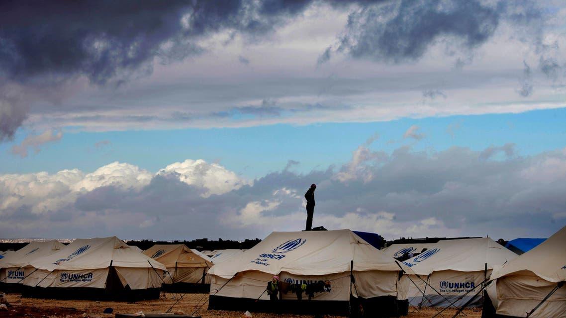 refuge camp zaatari ap