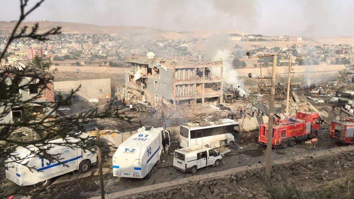 تفجير مركز شرطة في تركيا