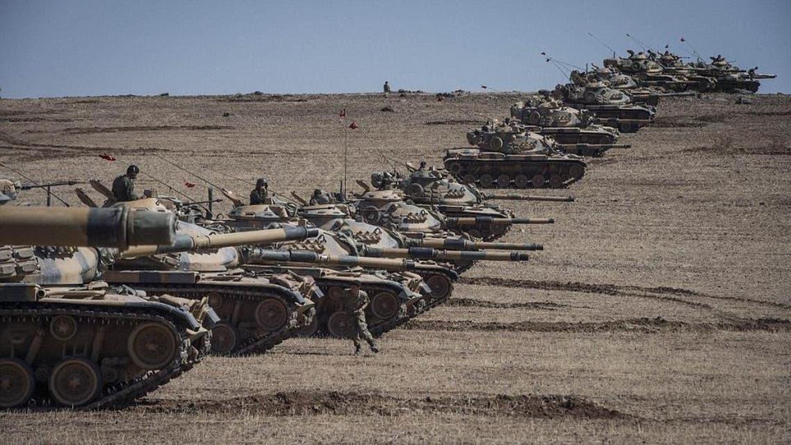 تانک های ترکیه