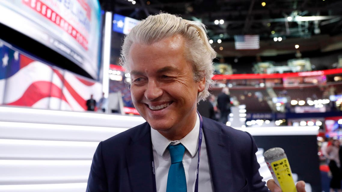 Geert Wilders' Freedom Party has led opinion polls in the Netherlands for months. (File photo: AP)