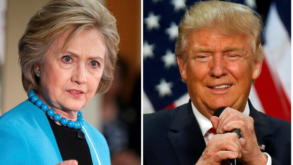 "Trump has lashed out at Clinton, saying she was accusing ""the decent Americans who support this campaign, your campaign, of being racists, which we're not."" (Reuters)"