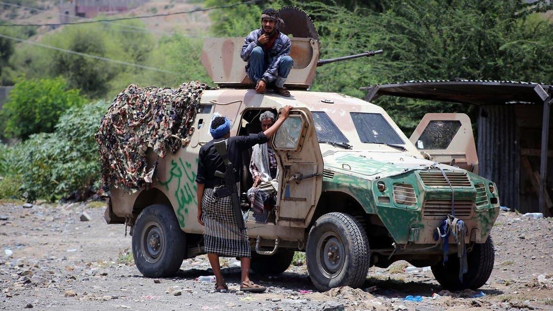 yemen resistance forces AFP
