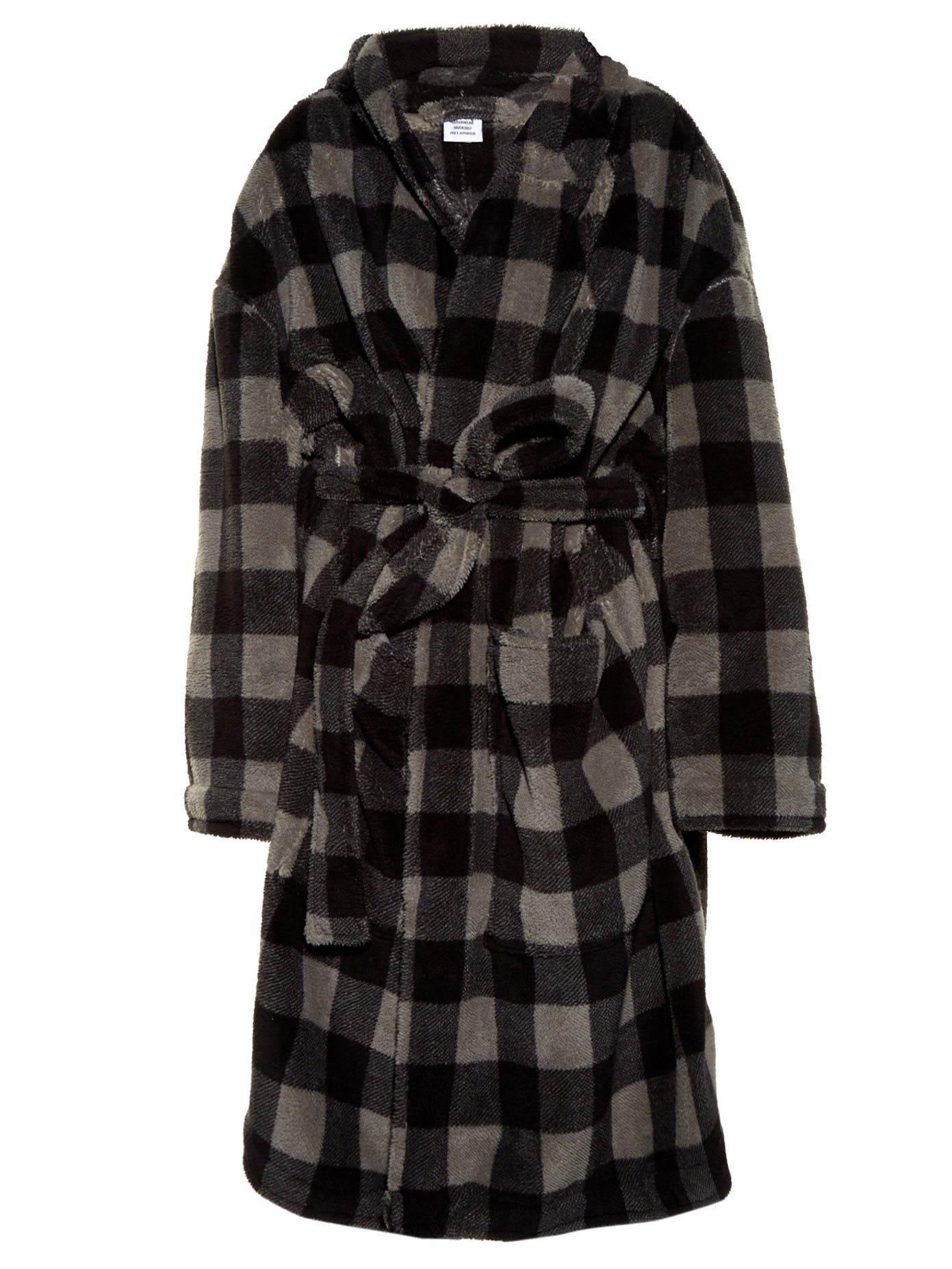 http://www.matchesfashion.com/intl/products/Vetements-Checked-hooded-fleece-robe-coat-1065809