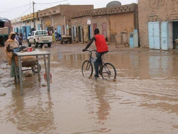 بالصور.. أمطار وسيول غير مسبوقة تعزل مناطق في موريتانيا