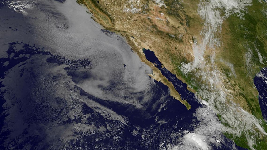 Tropical Storm Lester is strengthening in the Pacific Ocean well off the coast of Mexico, US meterologists said August 25, 2016. (AFP)
