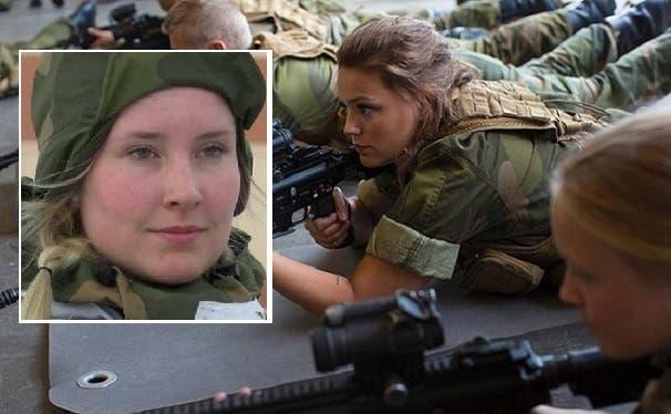 مجندات الجيش النرويجي 9 % من عدد جنوده