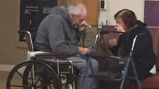 Photograph of separated elderly Canada couple gets attention