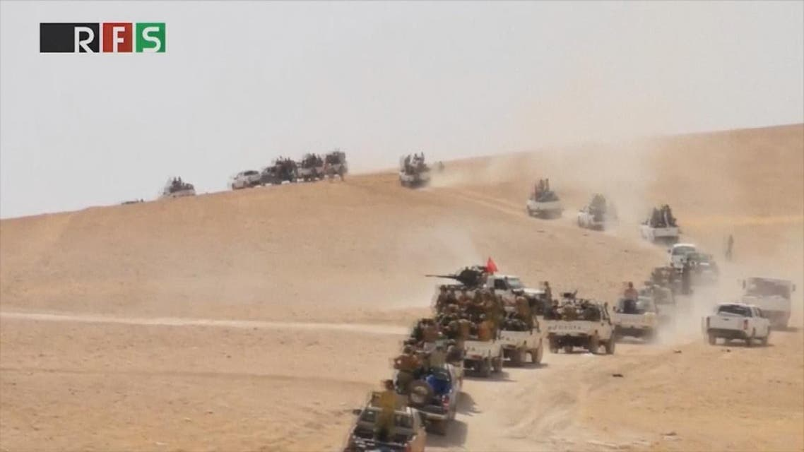 THUMBNAIL_ تركيا.. غارات جوية وتعزيزات برية إضافية إلى جرابلس