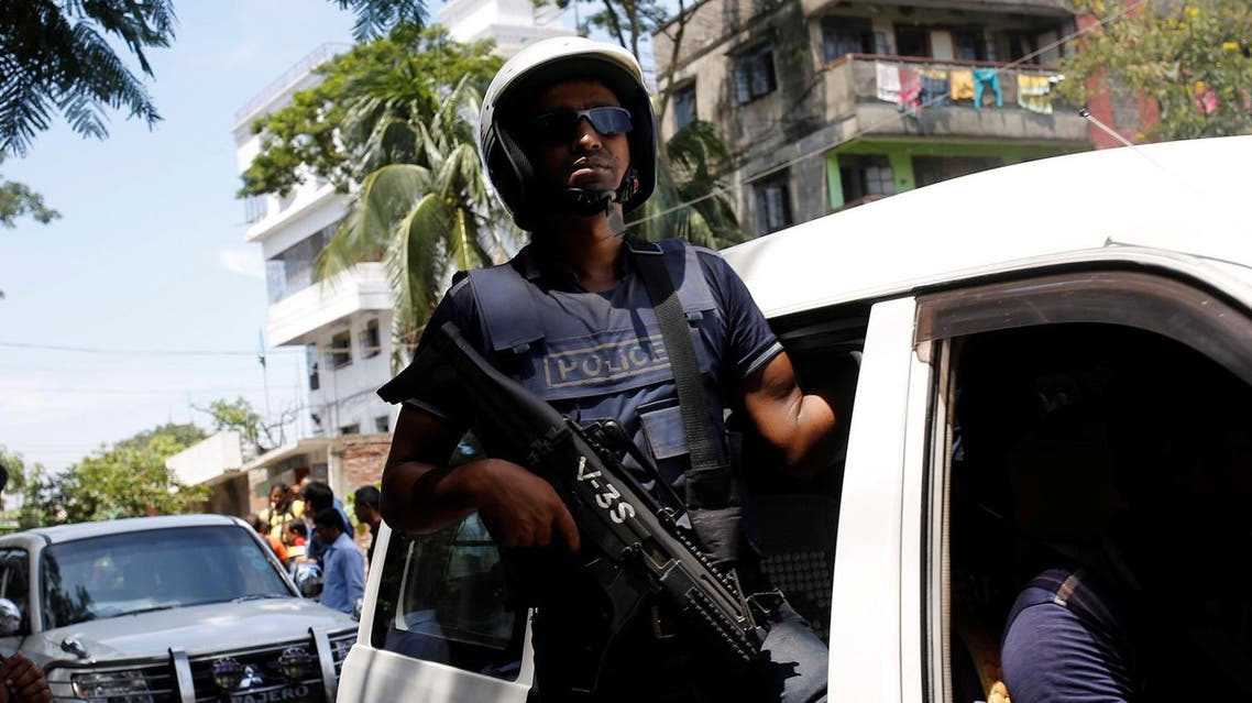 Police say Chowdhury is one of two masterminds of the attack on a popular restaurant in Dhaka on July 1 that that killed 20 people. (Reuters)