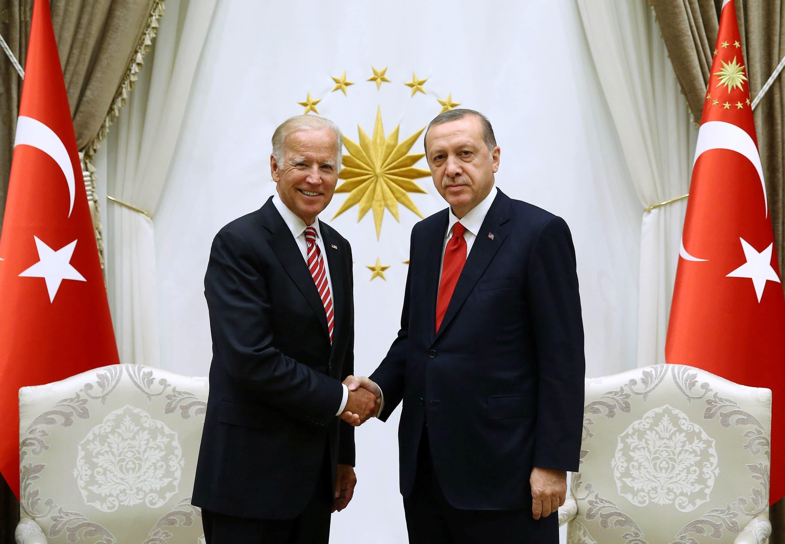 أردوغان وجو بايدن