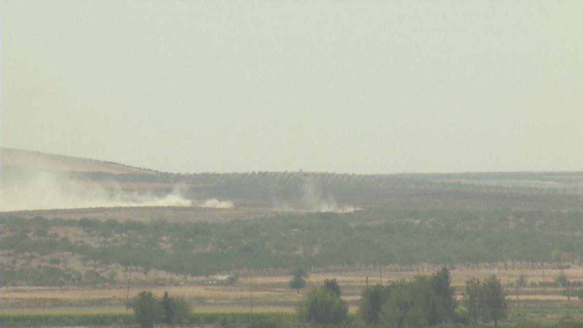 THUMBNAIL_ مقتل جندي تركي في هجوم على دبابتين قرب جرابلس