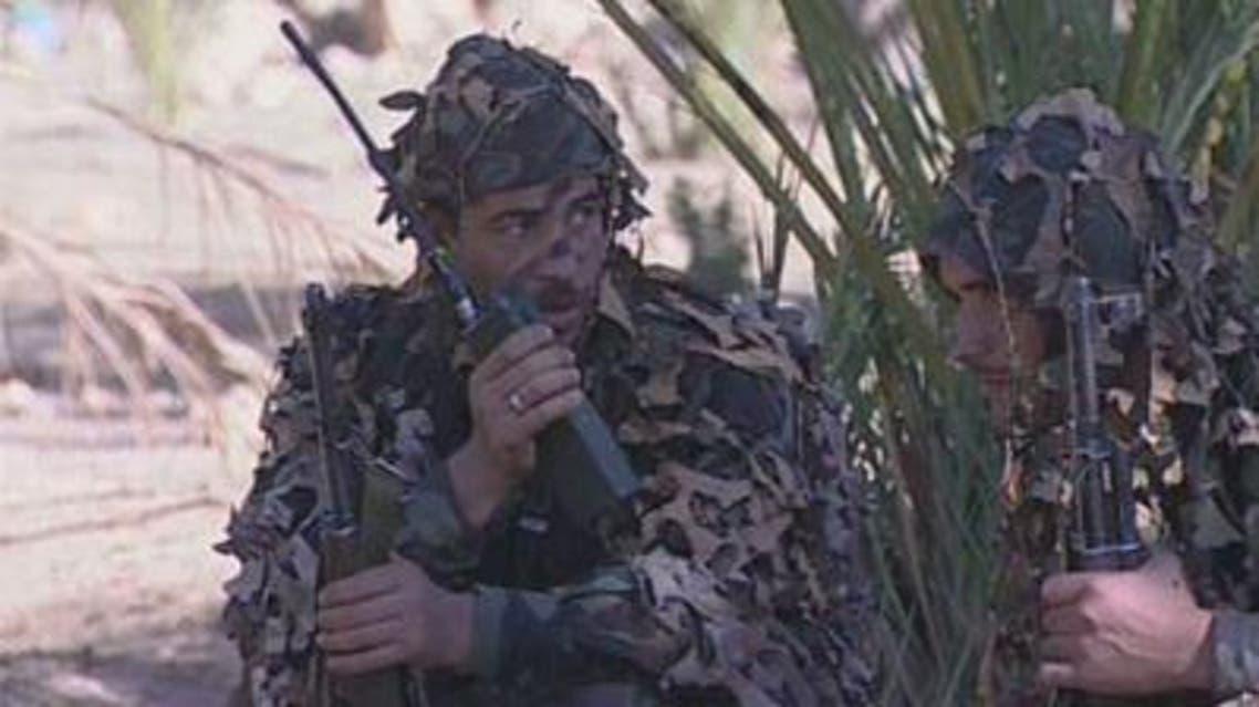 عناصر من الجيش الجزائري - الجزائر