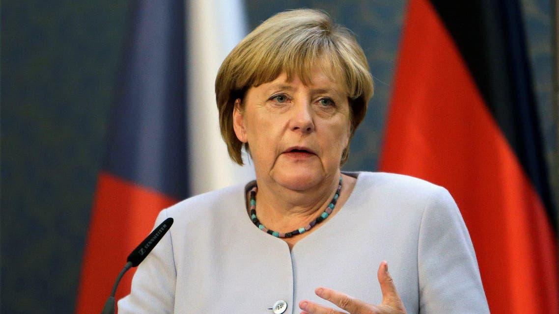 German Chancellor Angela Merkel speaks during a news conference at Czech government headquarters in Prague, Czech Republic, August 25, 2016. REUTERS