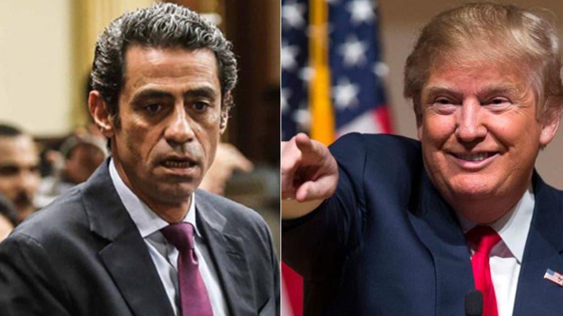 مصطفى الجندي ودونالد ترامب