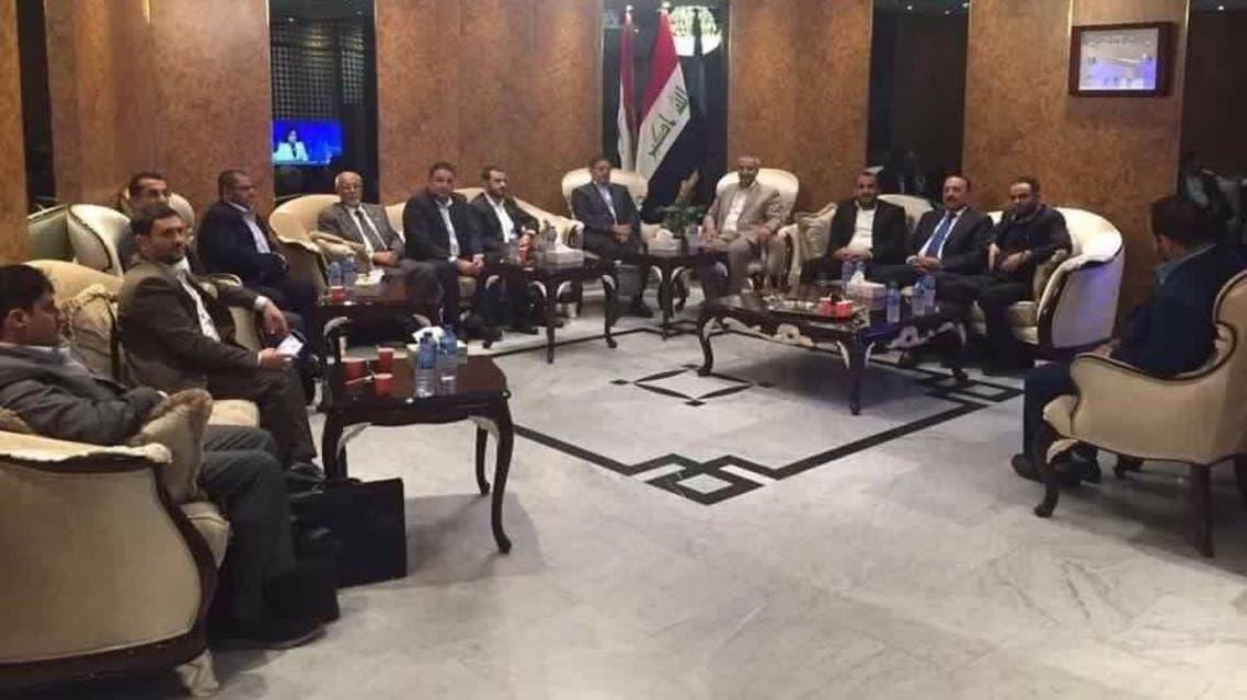 الحوثيون في بغداد