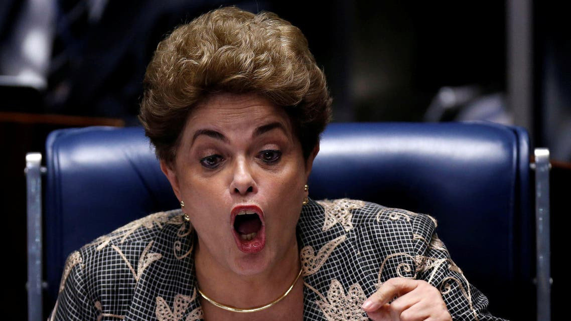 Brazil's suspended President Dilma Rousseff attends the final session of debate and voting on Rousseff's impeachment trial in Brasilia, Brazil, August 29, 2016. REUTERS