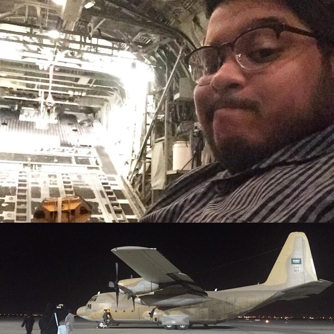 Al Arabiya English online journalist Ismaeel Naar reflects back on his first experience covering the Saudi-Yemen border attacks. (Al Arabiya English)