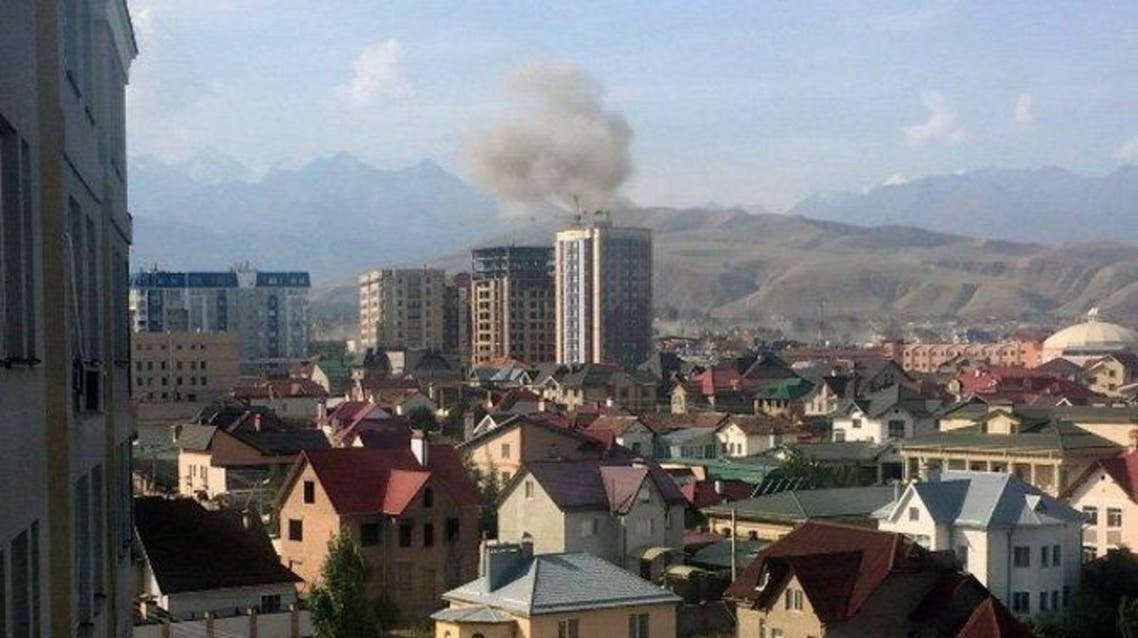 Explosion at Chinese embassy in Kyrgyzstan leaves several dead, wounded, Interfax news agency cites local emergency ministry. (via Twitter)