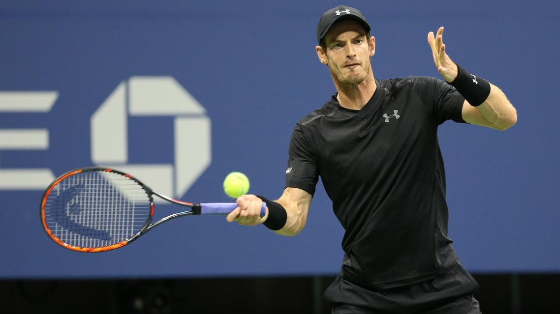 Second seed Murray, looking ominous in all black, was the last of the five to progress with a late-night 6-3 6-2 6-2 victory over Czech Lukas Rosol. (Reuters)