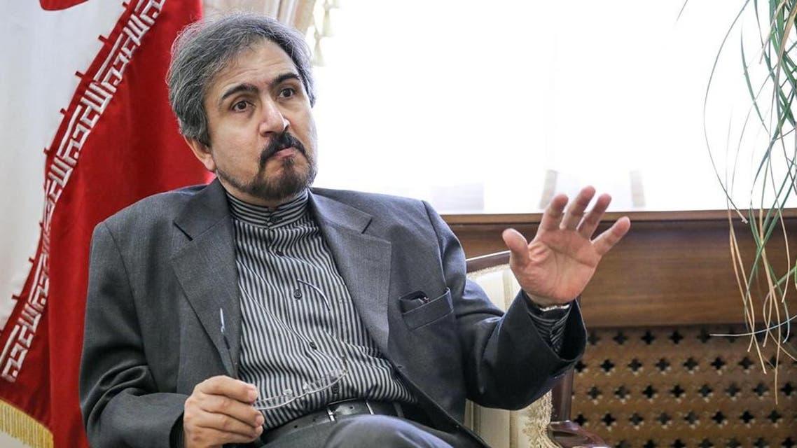 بهرام قاسمي المتحدث باسم الخارجية الإيرانية
