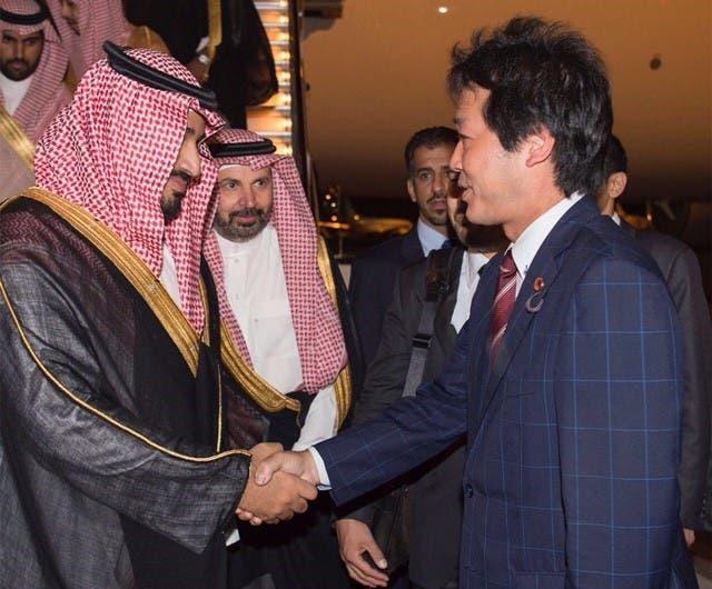 إمبراطور اليابان يستقبل ولي العهد السعودي coobra.net
