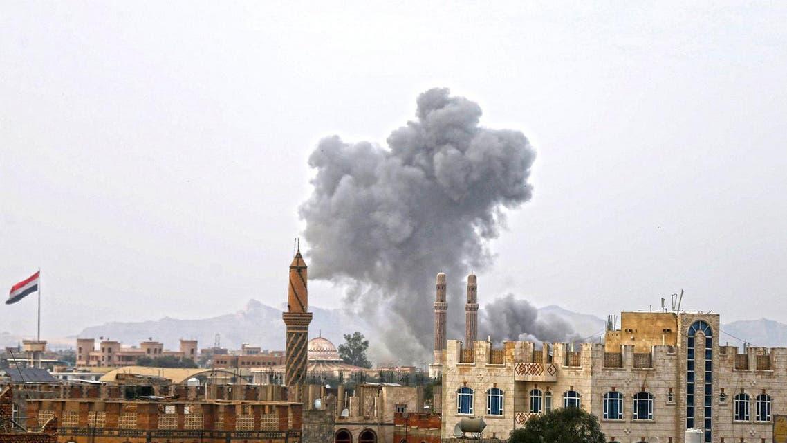 sanaa yemen strike reuters