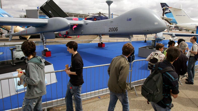 General atomics lawsuit to delay heron drone programme for Le bourget programme