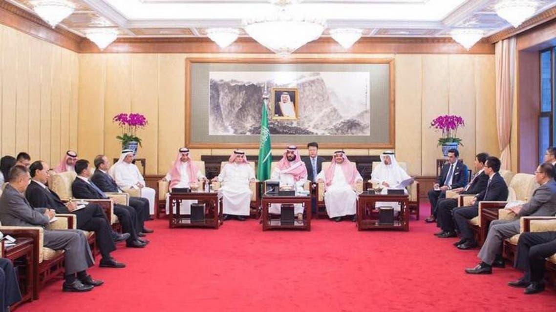 الأمير محمد بن سلمان الصين