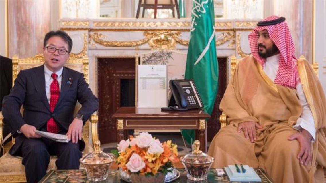 الأمير محمد بن سلمان في اليابان