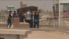 نجف کے قبرستان میں ملیشیاؤں کے سیکڑوں ارکان کی تدفین