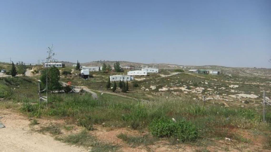 البؤرة الاستيطانية عمونا شمال رام الله