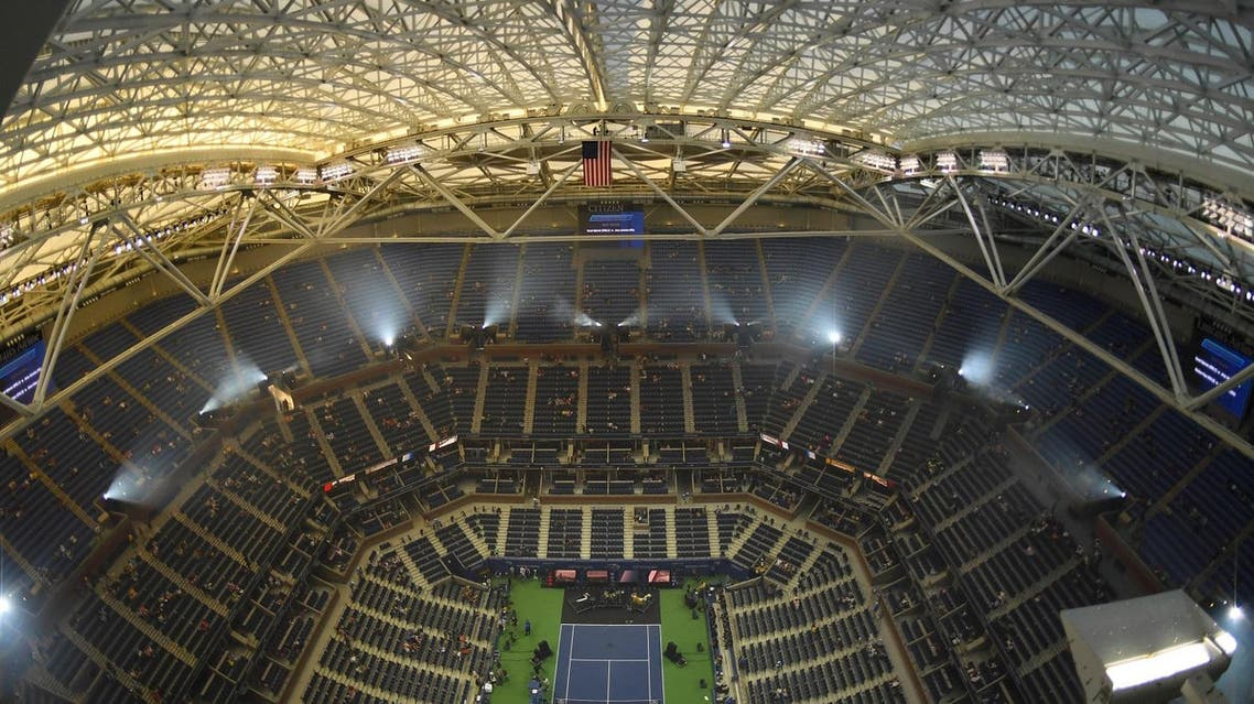 After dealing with rain delays and postponed finals for years, the USTA finally built a movable roof over its main stadium. (Reuters)