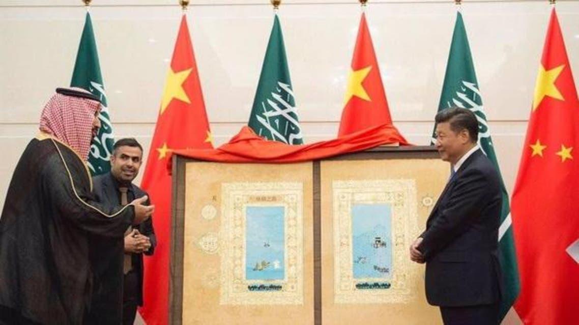 ماذا احتوت لوحة طريق الحرير التي قدمتها السعودية للصين؟