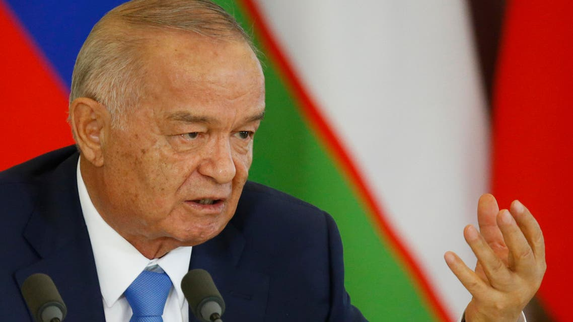 Karimov has ruled Uzbekistan since before it gained independence from the Soviet Union in 1991. (File photo: AFP)