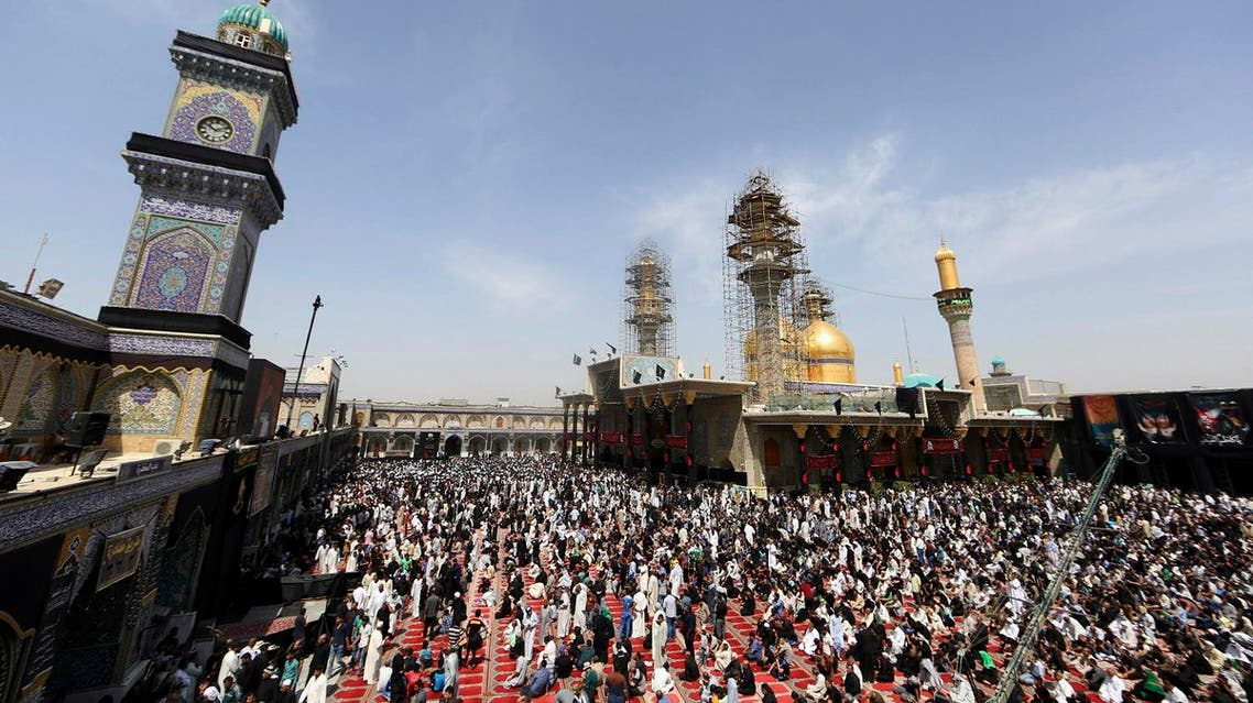 The blasts came as tens of thousands of Shiite faithful from across Iraq and abroad converged on the Kadhimiyah shrine in Baghdad. (File photo: AP)