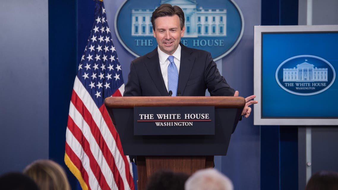"""""""The argument that somehow this agreement was implemented before Iran came into compliance is just not true,"""" White House spokesman Josh Earnest said. (AFP)"""