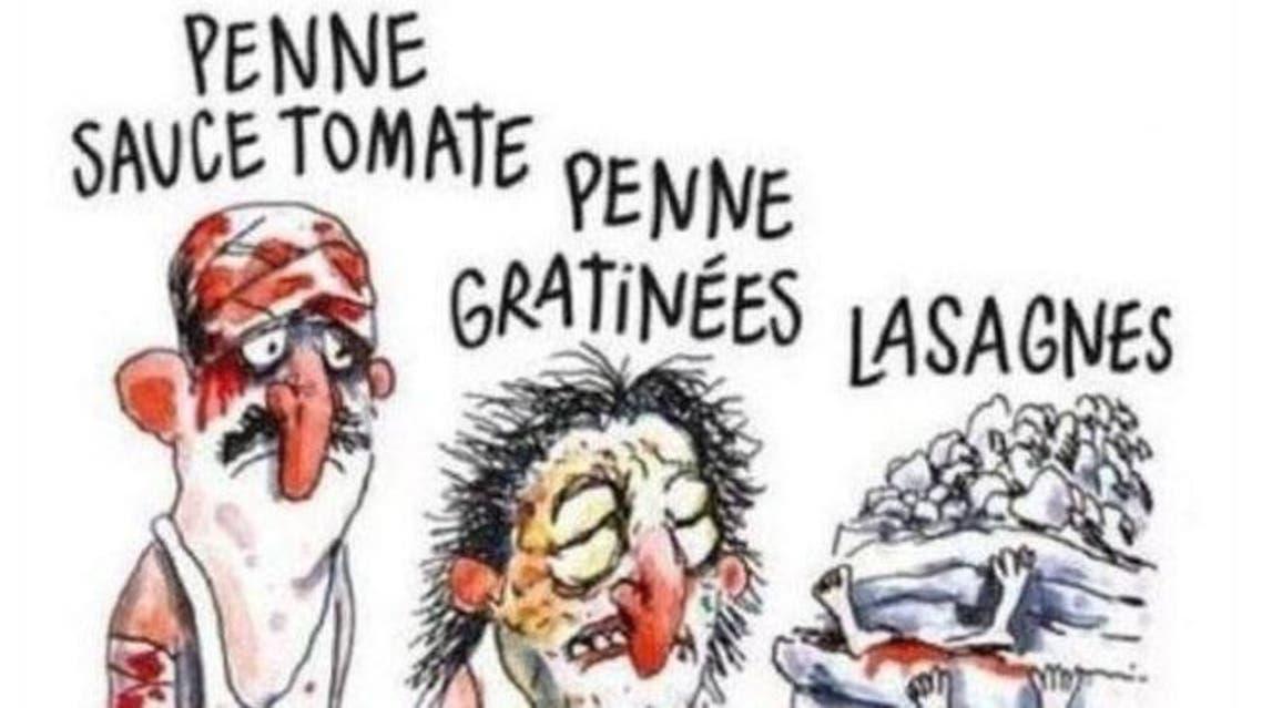 شارلي إيبدو زلزال إيطاليا