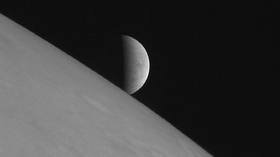 New Horizons took this image of the icy moon Europa rising above Jupiter's cloud tops after the spacecraft's closest approach to Jupiter. The spacecraft was 2.3 million kilometers (1.4 million miles) from Jupiter and 3 million kilometers (1.8 million miles) from Europa when the picture was taken. Robotic missions to Mars and Jupiter's icy moon Europa should top NASA's to-do list for an upcoming decade of planetary exploration, the U.S. National Research Council recommended on Monday. For the decade 2013-2022, five separate panels of scientists and experts agreed on a suite of missions that would get the greatest scientific return from money spent, recognizing that even these projects could be budget busters. REUTERS/NASA/Johns Hopkins University Applied Physics Laboratory/Southwest Research Institute/Handou reuters