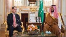 محمد بن سلمان يلتقي مدير مجموعة البورصة اليابانية
