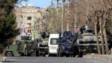 ترک سکیورٹی فورسز اور کرد باغیوں میں جھڑپیں، 100 سے زیادہ ہلاکتیں