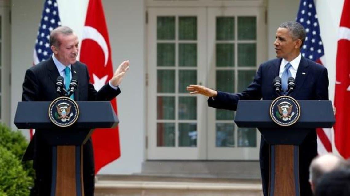 أوباما مع أردوغان
