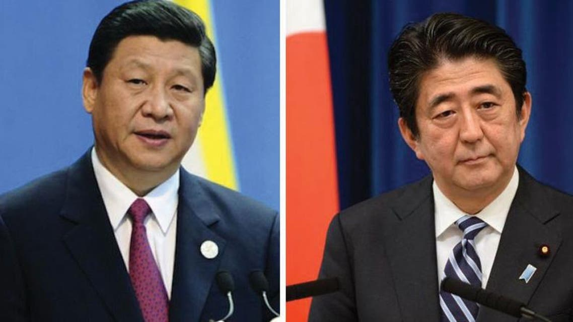 chinese president and japanese prime minister