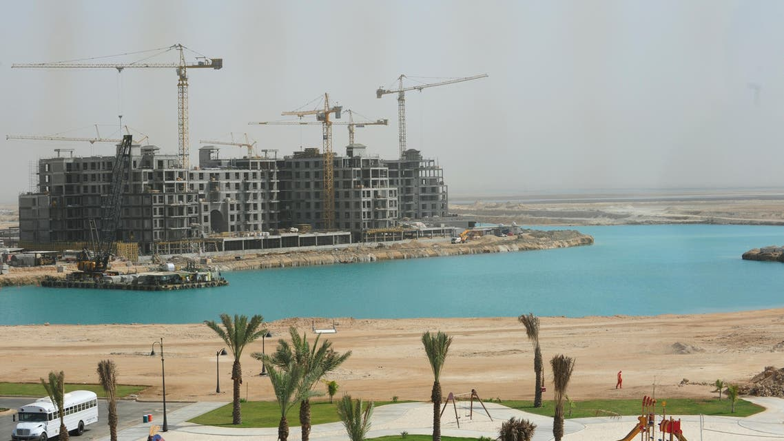 Part of King Abdullah Economic City in Jeddah on February 3, 2009. AFP