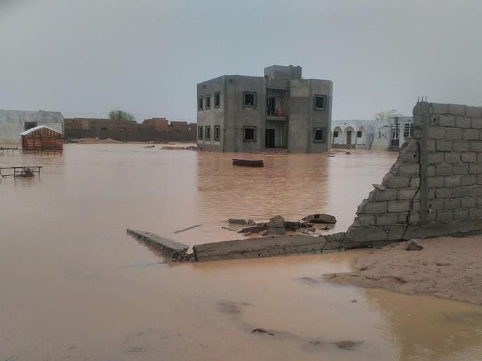 مساعدات لضحايا الفيضانات في موريتانيا
