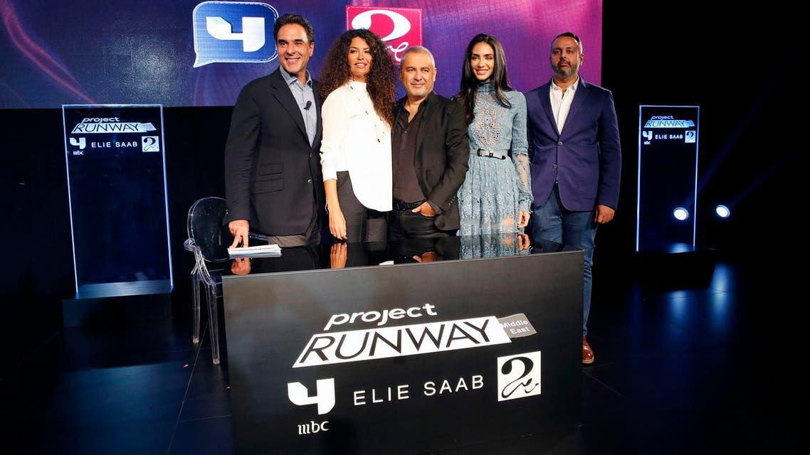 Afef Jnifen, Mazen Hayek, Elie Saab, Jessica Kahawaty, Fares al Shehri (MBC)