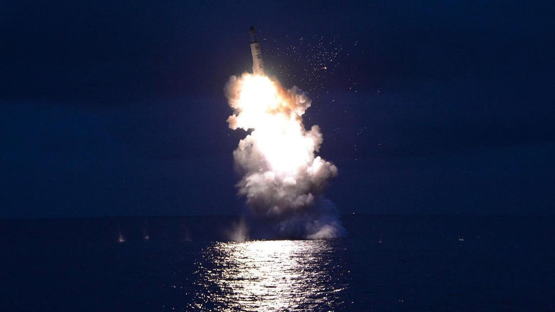 The missile launches were the latest in a series of launches by the isolated North this year in violation of UN Security Council resolutions. (File photo: AFP)