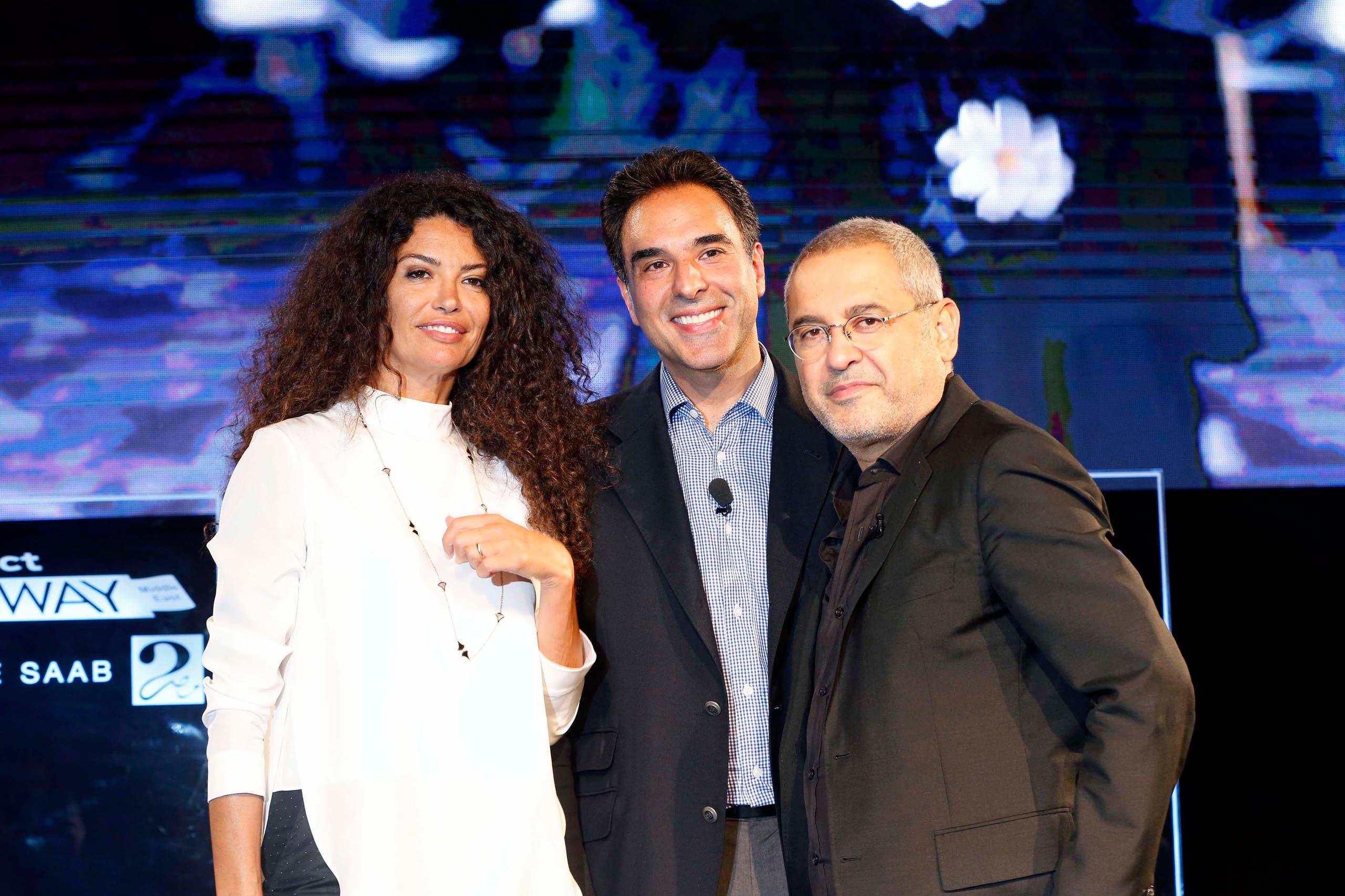 Afef Jnifen, Mazen Hayek, Elie Saab (MBC)