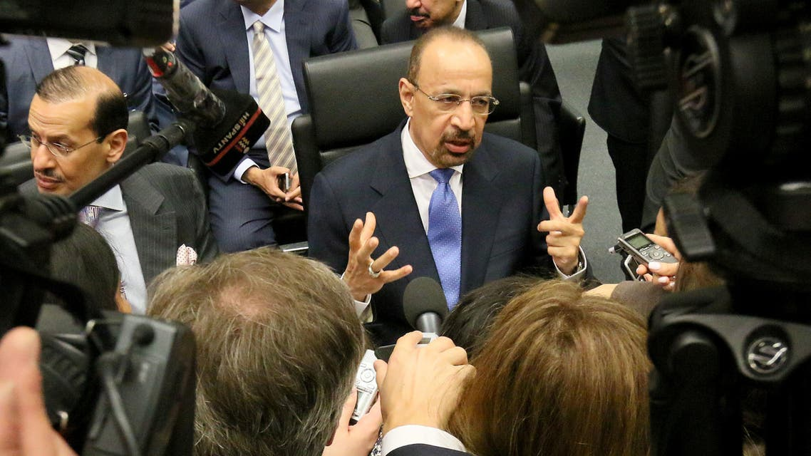 Saudi Energy Minister Khaled al-Faleh and his Russian counterpart they had agreed to set up a 'joint monitoring group' to offer recommendations aimed at preventing price fluctuations. (File photo: Reuters)